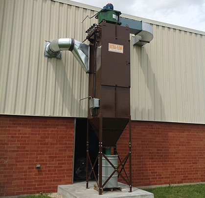 Small Baghouse Industrial Dust Collector
