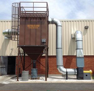 Ultra-Flow Baghouse Industrial Dust Collector